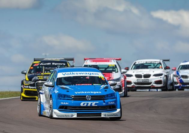 Volkswagen Motorsport extends manufacturer's points lead at Round 2 of the GTC series