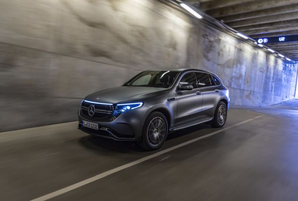 The new Mercedes-Benz EQC