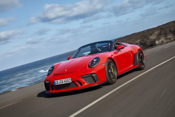 New Porsche 911 Speedster goes into production – 510 PS and limited edition