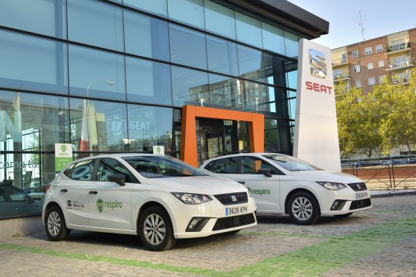 SEAT rents cars on a daily and hourly basis