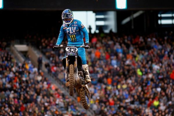 Monster Energy Yamaha Factory Racing Team's Josh Grant Continues to Improve with AMA Eighth-Place Finish