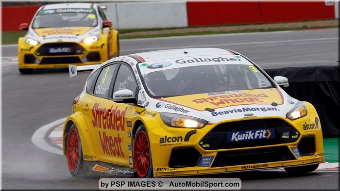 Team Shredded Wheat Racing with Gallagher ready to resume BTCC title tilt at Thruxton
