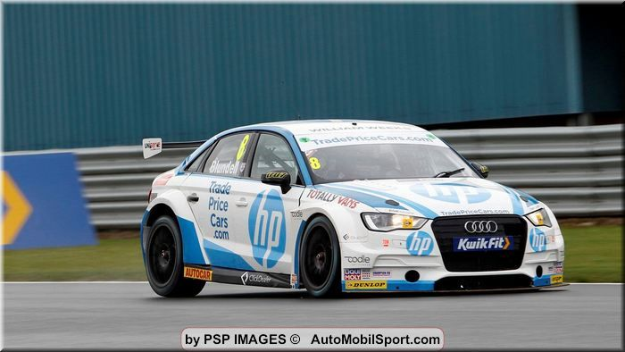 Trade Price Cars Racing fights back at Donington Park