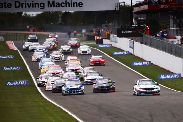 Thrill ride Thruxton awaits the BTCC