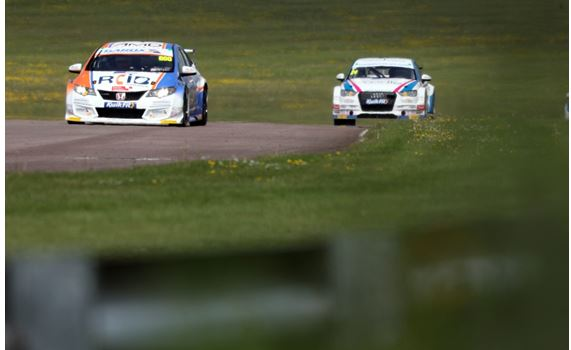 Thruxton BTCC qualifying classification