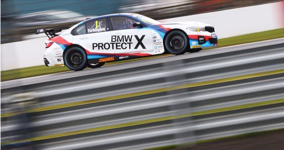 Turkington takes BTCC pole at Donington Park