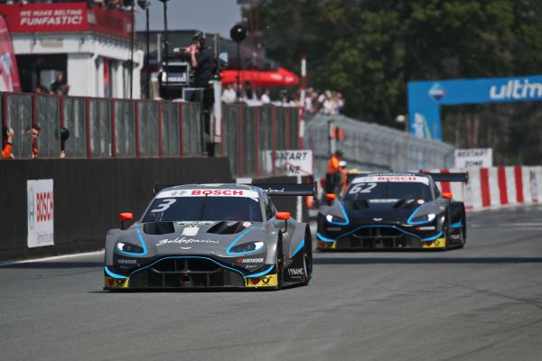 Double points-scoring finish for the Aston Martin Vantage DTM at Zolder