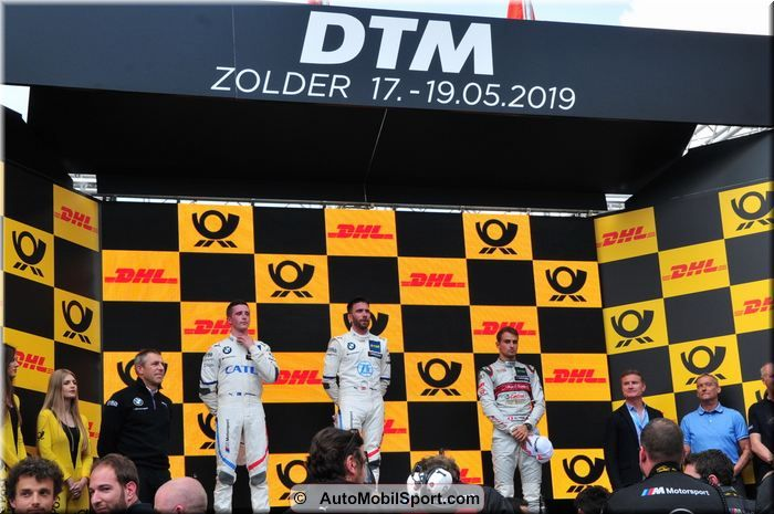 Philipp Eng takes maiden DTM win at Zolder