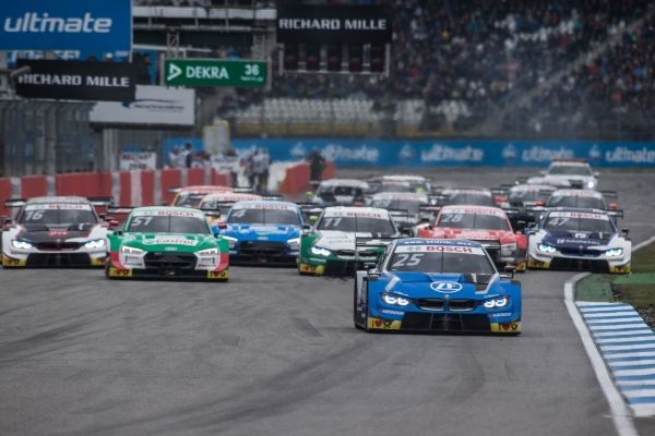 Five BMW M4 DTMs in the points on Sunday at Hockenheim