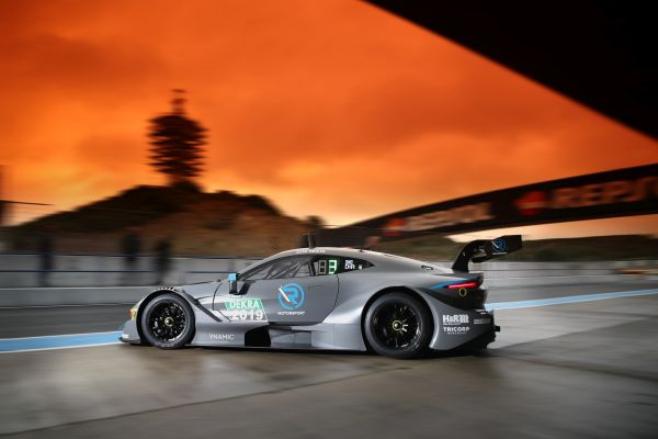 First test day completed with R-Motorsport's Aston Martin Vantage DTM at Jerez