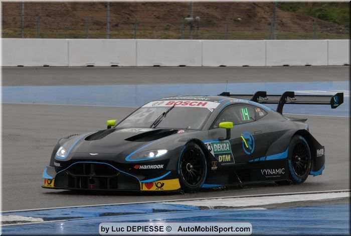 First points for the Aston Martin Vantage DTM in DTM season opener at Hockenheim