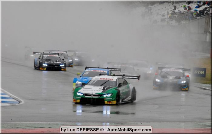Thunder in the rain – Wittmann kicks off DTM's turbo era with wet-weather masterclass