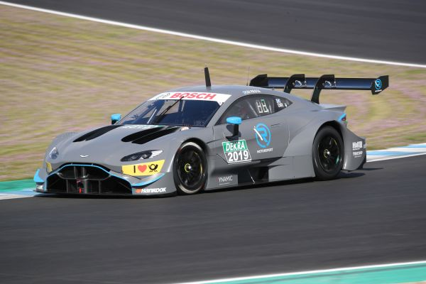 R-Motorsport's Aston Martin Vantage DTM car makes track debut at Jerez