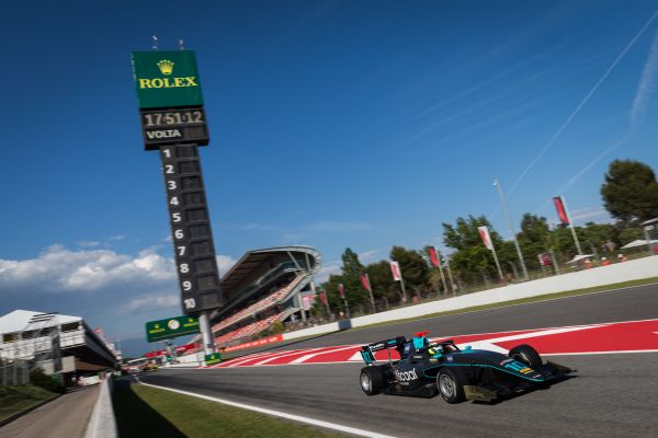 Formula 3 race debut for HWA RACELAB in Barcelona