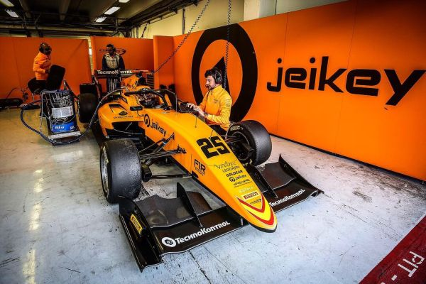 Campos Racing FIA Formula 3 Hungaroring test review