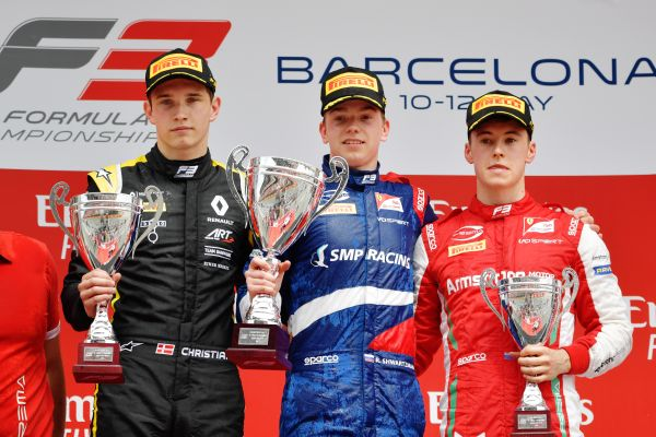 Barcelona FIA F3 race 1 classification