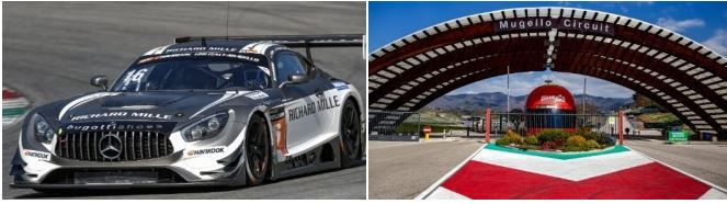 SPS automotive performance claims Hankook 12H MUGELLO pole position