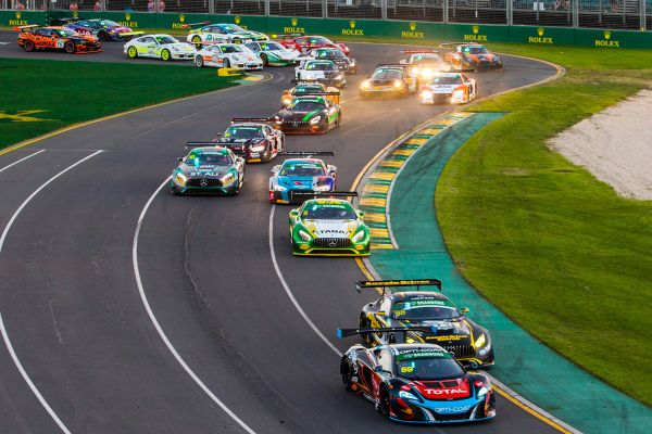 Australian GT Championship Melbourne entries, schedule and stats