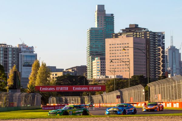 Australian GT Melbourne race 3 classification and standings