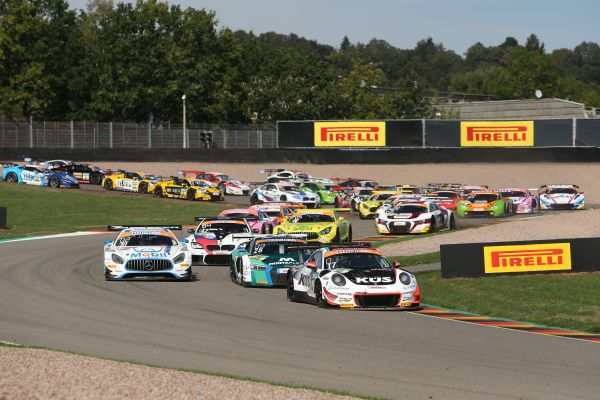 Starter field for the 2019 ADAC GT Masters