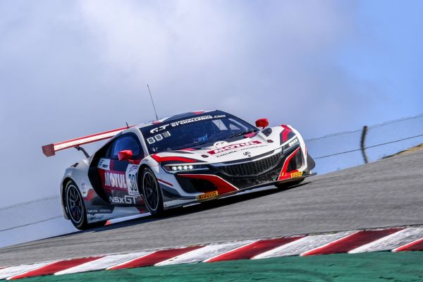 Farnbacher powers Honda to California 8 Hours pole position
