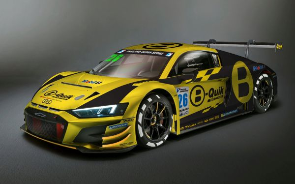 Two Audi GT3 entries for B-Quik in Thailand Super Series