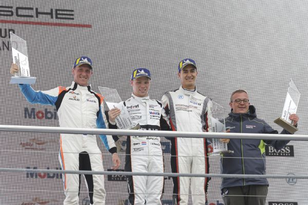 Larry ten Voorde wins Porsche Carrera Cup season opener at Hockenheim