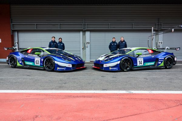 Emil Frey Racing concludes successful test program with Lamborghini