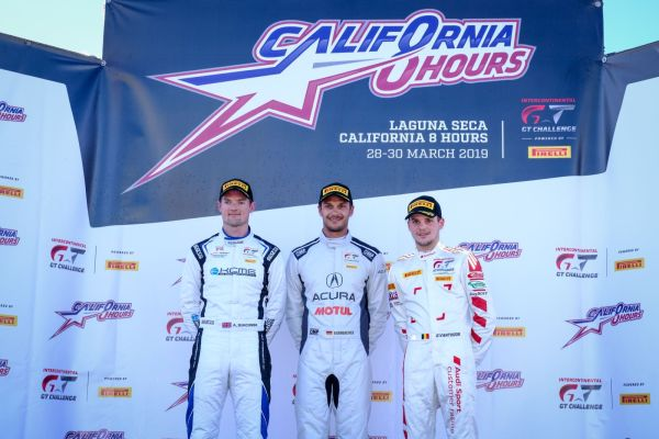 California 8 Hours Pole shootout classification
