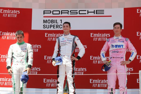 Perfect start to the season for Porsche Junior Andlauer