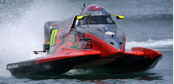 Three in a row as Torrente take F1H2O pole position in Portimao