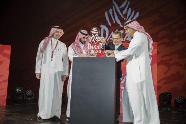 Monster Energy Honda with the 2020 Dakar Rally in Saudi
