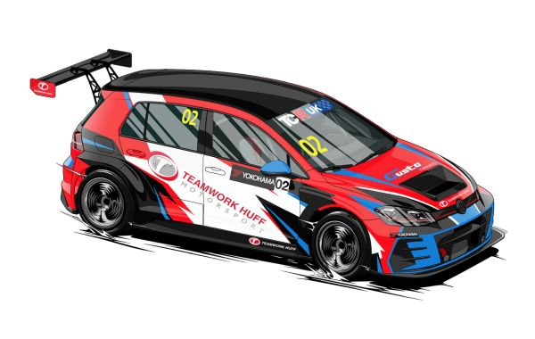 TCR UK Rob Huff's new race team to enter two Golf cars