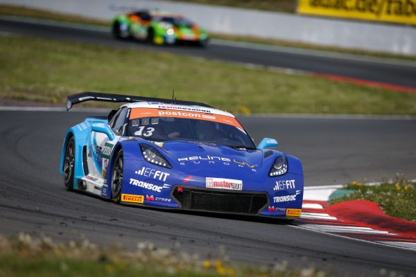 Corvette with first best time in ADAC GT Masters season opener