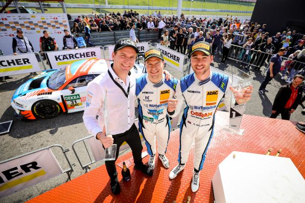 Audi duo Niederhauser and van der Linde in maiden win for HCB-Rutronik Racing at Most