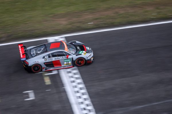 Two contacts complicated I.S.R. racing's weekend in ADAC GT Masters 2019