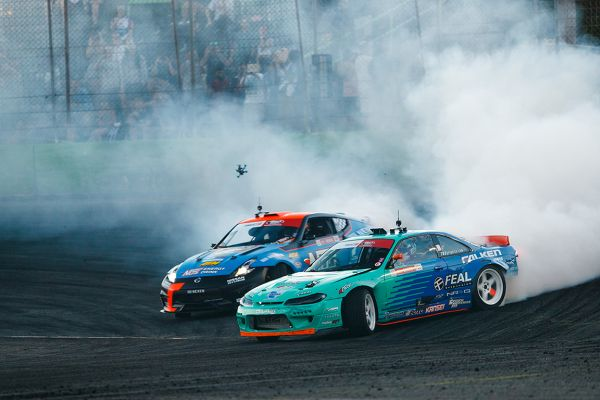 Bakchis increases Formula Drift lead with second win in Orlando