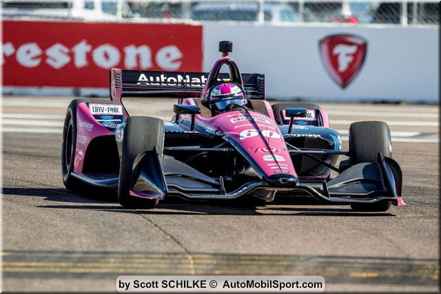 Meyer Shank Racing Seventh on St. Pete Grid