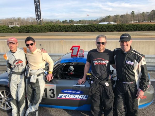 Casey Carden Barber Motorsports Park race review and win