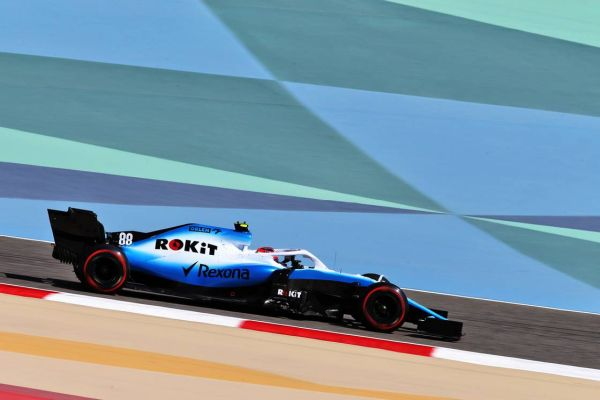 ROKit Williams F1 Bahrain test day 1 review