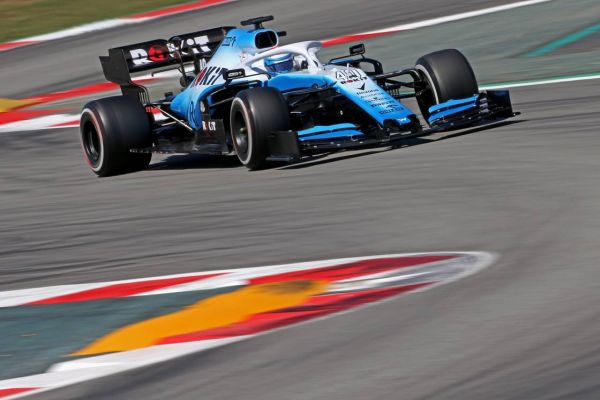 ROKit Williams F1 Barcelona test 4, day 2