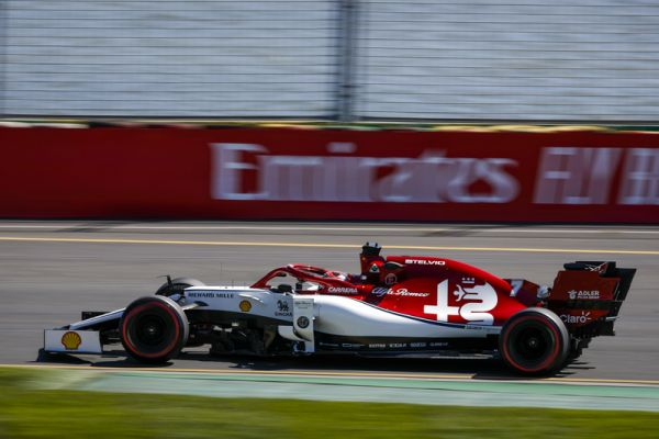 4 points for Alfa Romeo Team F1 in Australian GP race