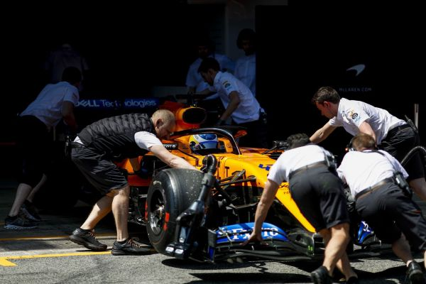 McLaren F1 Barcelona test 4 day 2 review