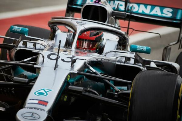 Mercedes AMG Petronas F1 Bahrain test day 2