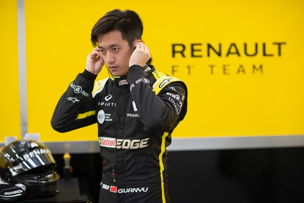 Up close with Guanyu Zhou ahead of Chinese Grand Prix