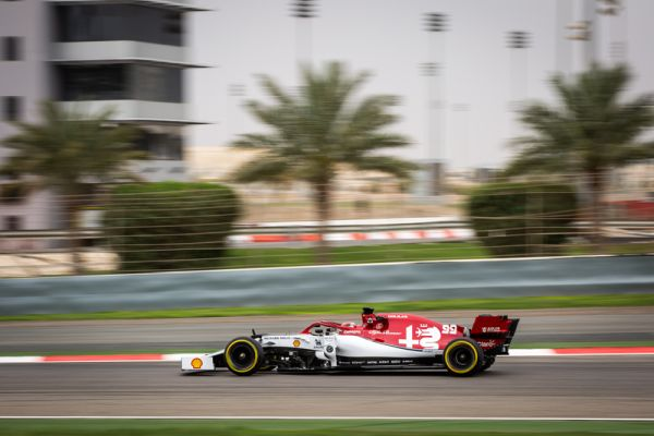 Alfa Romeo Racing F1 Bahrain test day 2