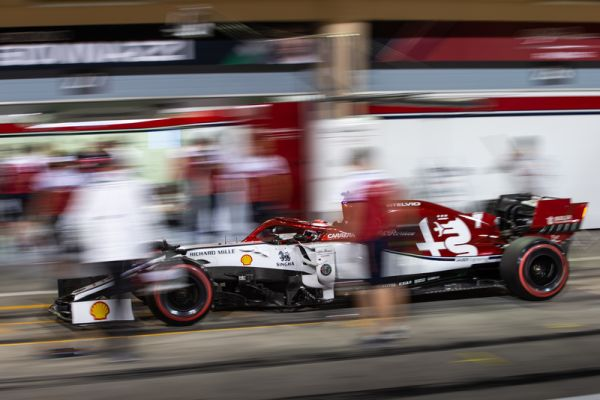 Alfa Romeo Racing F1 Bahrain Grand-Prix race