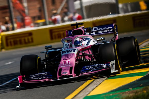 SportPesa Racing Point F1 Australian GP practices review