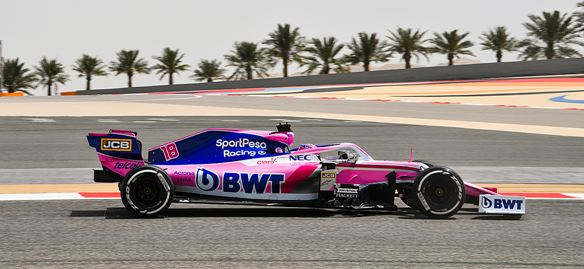 SportPesa Racing Point F1 Bahrain test summary