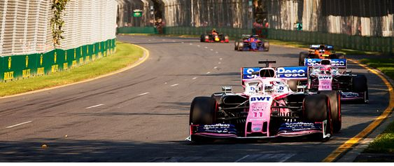 SportPesa Racing Point F1 Australian Grand-Prix race review